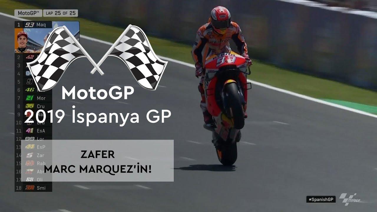 Zafer Marc Marquez'in! (MotoGP 2019 - İspanya Grand Prix)