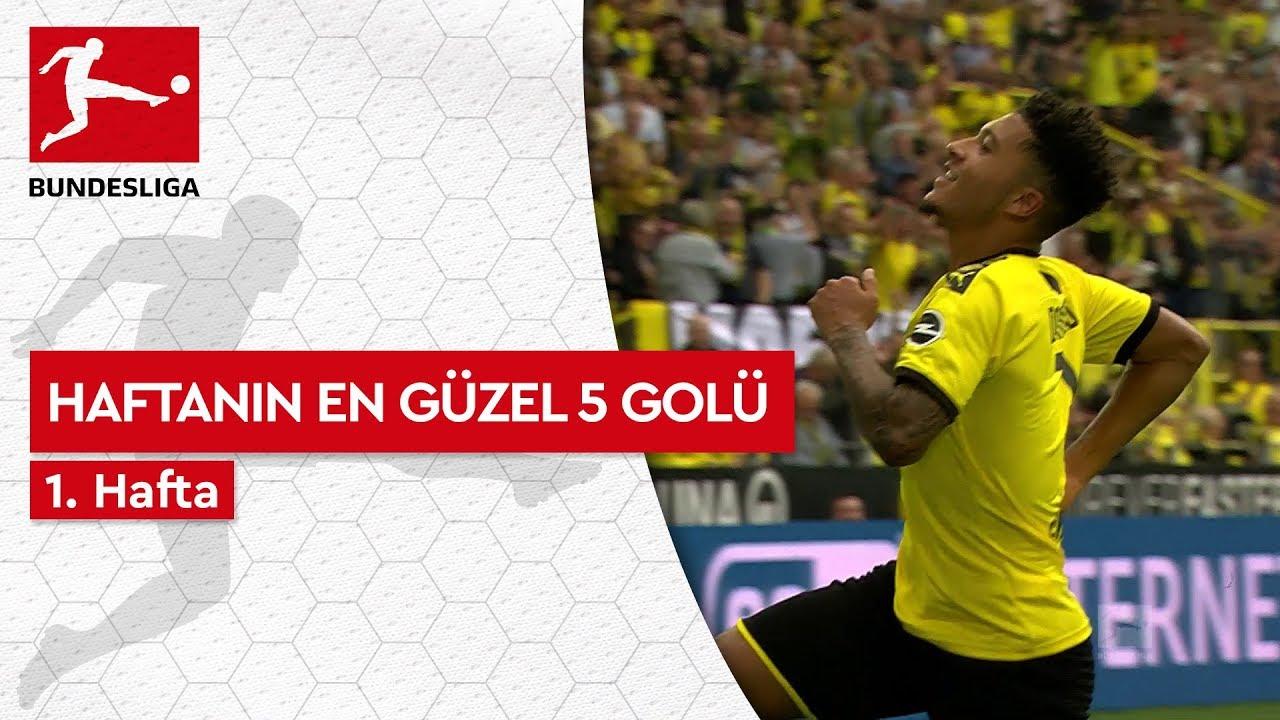 Bundesliga'da 1. Haftanın En Güzel 5 Golü (2019/20)