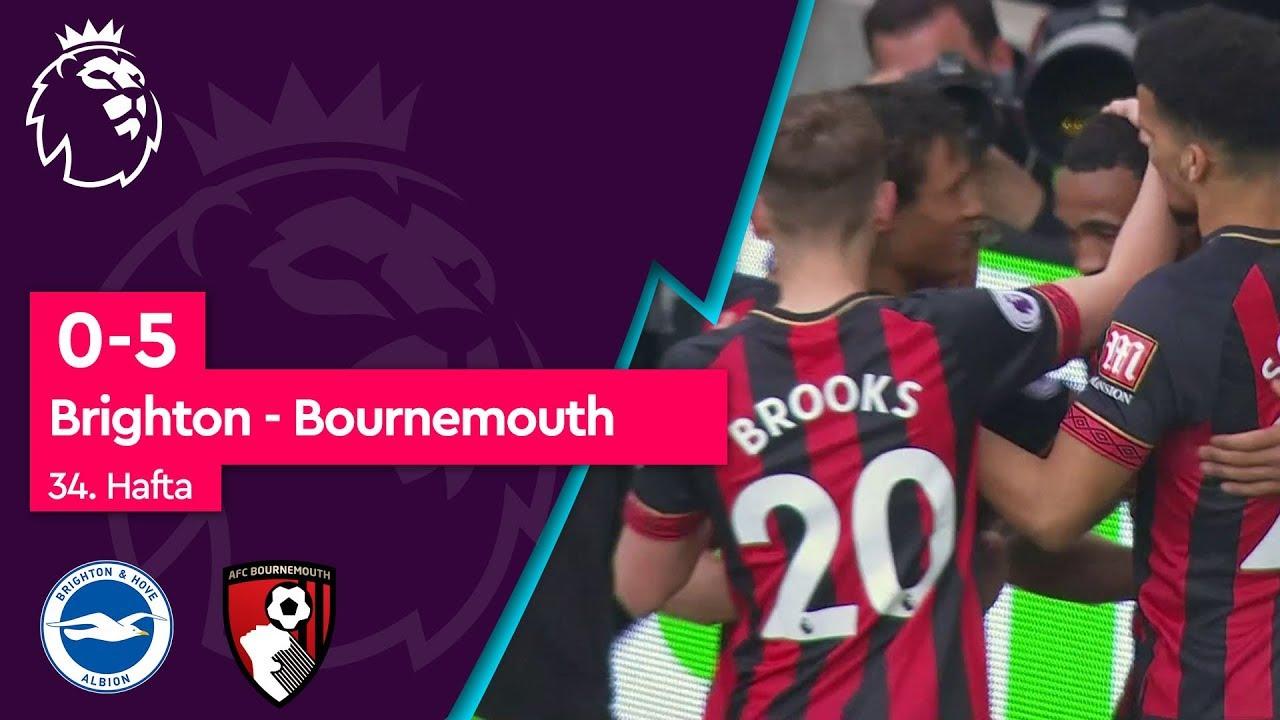 Brighton - Bournemouth (0-5) - Maç Özeti - Premier League 2018/19