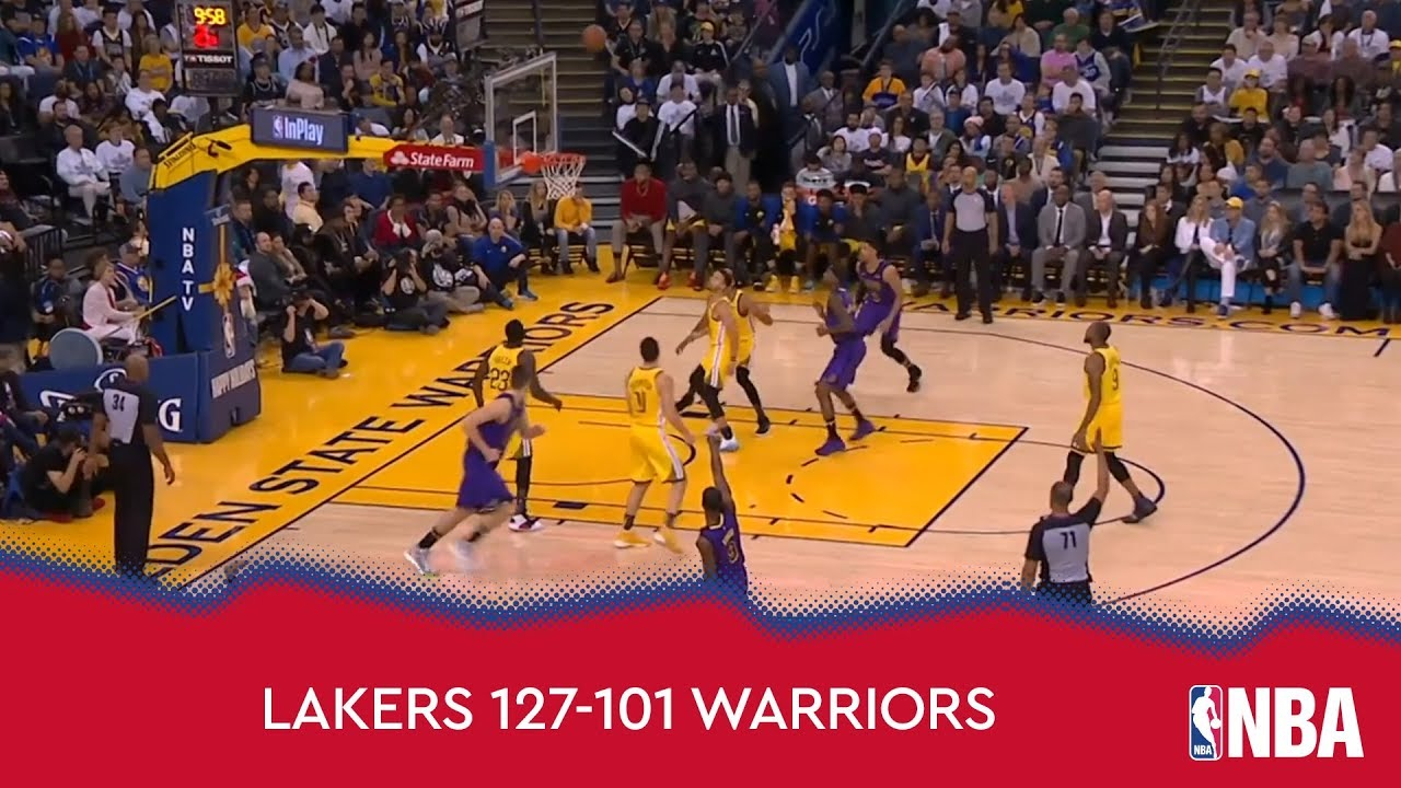 Los Angeles Lakers 127-101 Golden State Warriors
