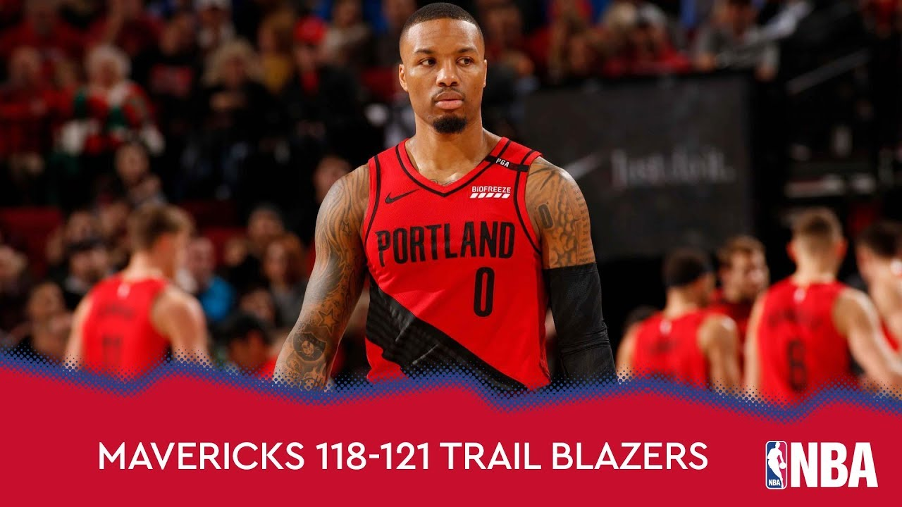 Dallas Mavericks 118-121 Portland Trail Blazers