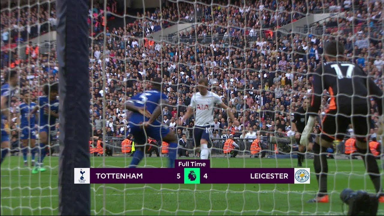 Tottenham - Leicester (5-4) - Maç Özeti - Premier League 2017/18
