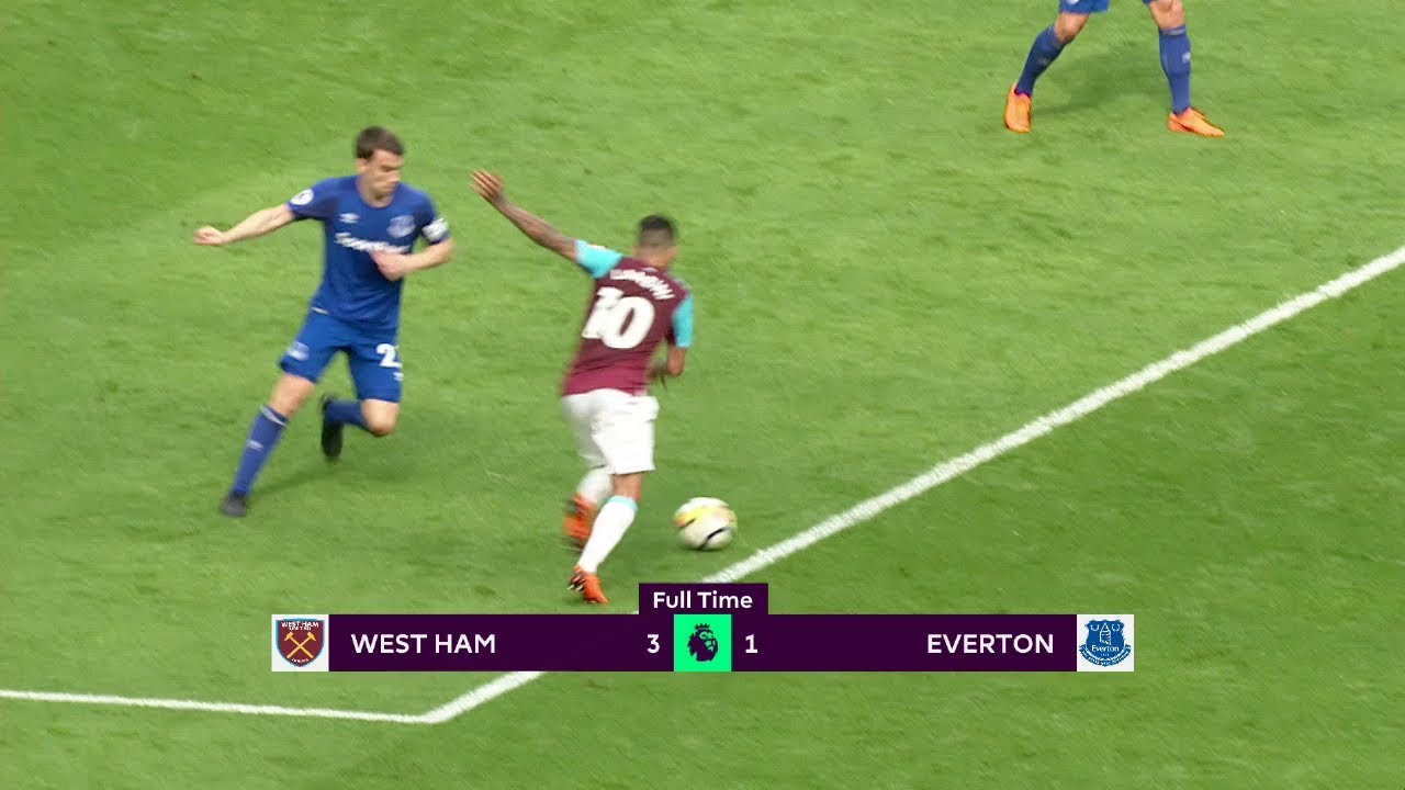 West Ham - Everton (3-1) - Maç Özeti - Premier League 2017/18
