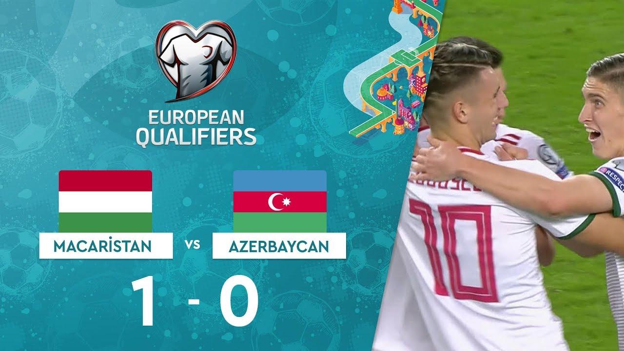 Macaristan 1-0 Azerbaycan | EURO 2020 Elemeleri Maç Özeti - E Grubu
