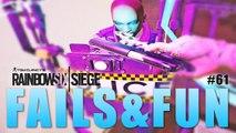 RAINBOW SIX SIEGE FAILS: #61 (Rainbow Six Siege Random Moments)