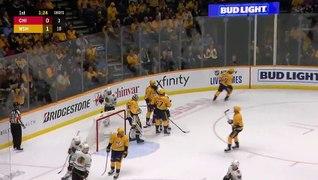 Pekka Rinne makes 20 saves in shutout win