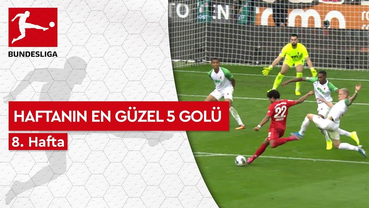 Bundesliga'da 8. Haftanın En Güzel 5 Golü (2019/20)
