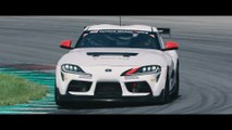 The new Toyota GR Supra GT4 - Specially developed racing car for the GT4 customer