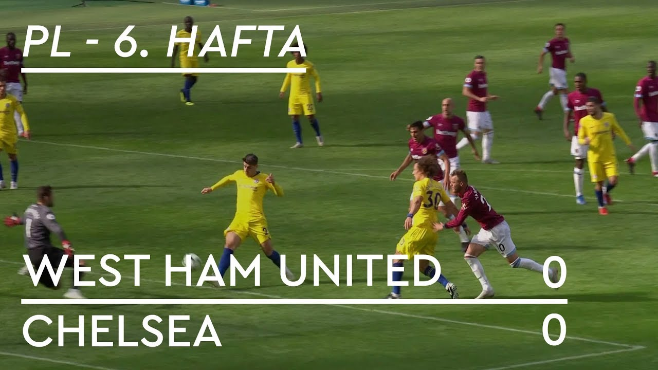 West Ham United - Chelsea (0-0) - Maç Özeti - Premier League 2018/19