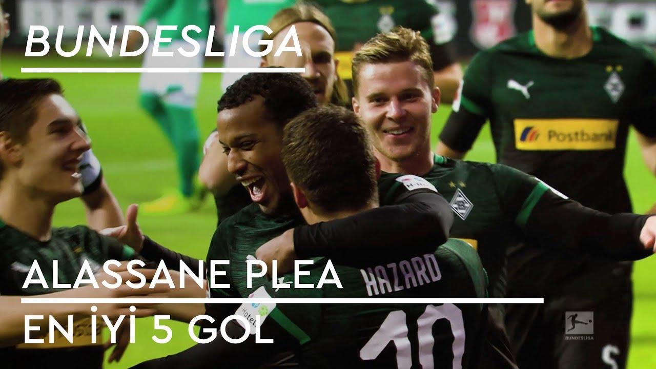 En İyi 5 Gol - Alassane Plea | Bundesliga