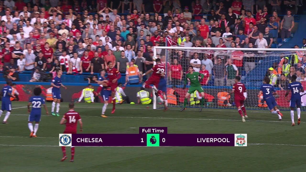 Chelsea - Liverpool (1-0) - Maç Özeti - Premier League 2017/18