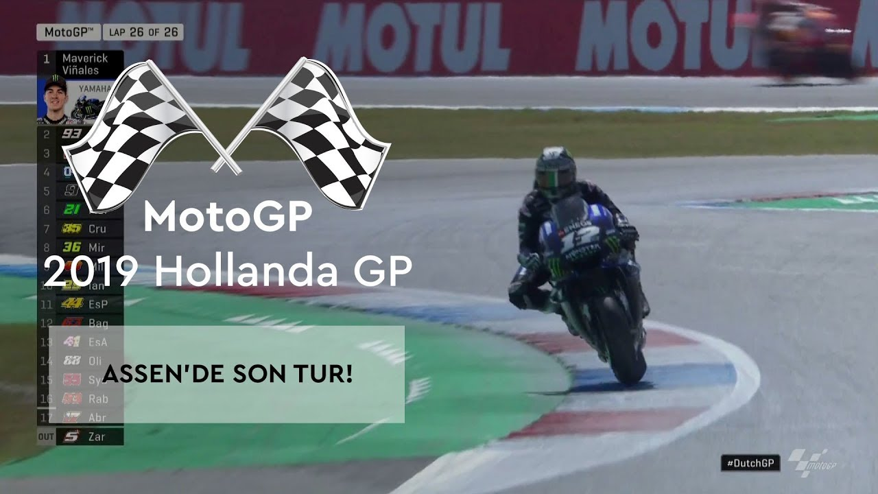 Assen'de Son Tur (MotoGP 2019 - Hollanda Grand Prix)
