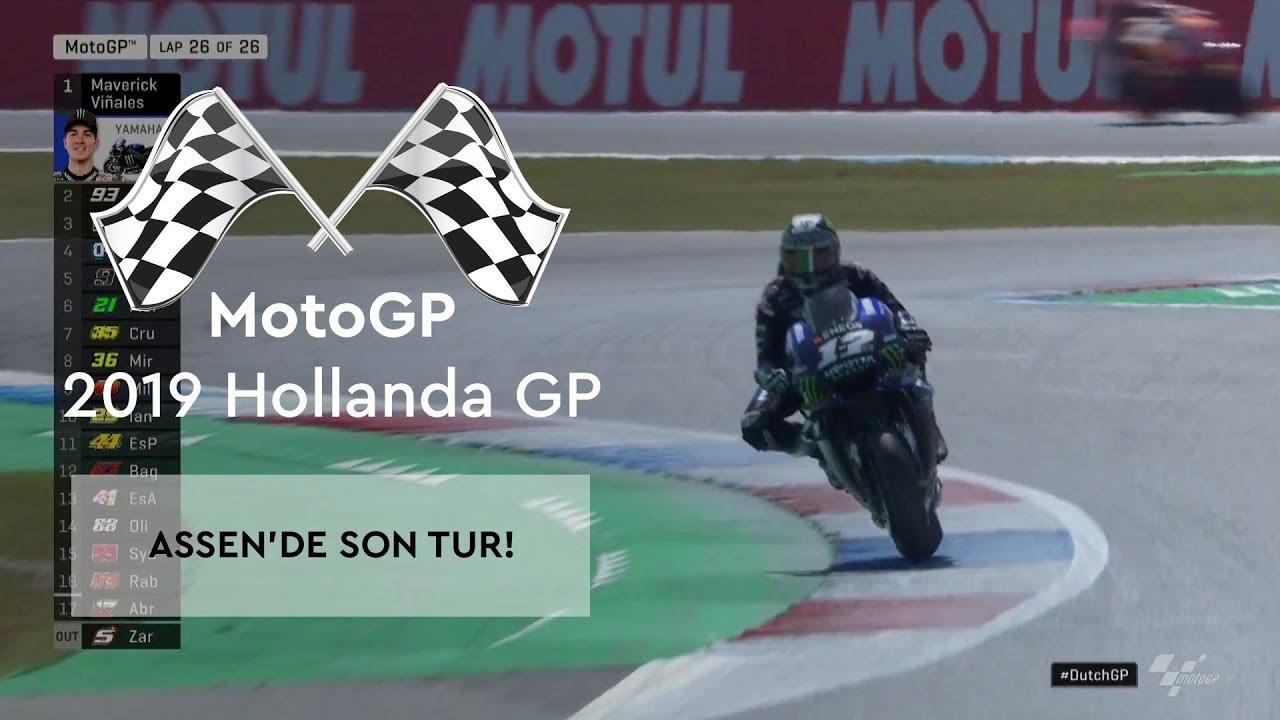 Assen'de Son Tur (MotoGP 2019 - Hollanda Grand Prix)