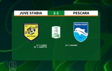 HIGHLIGHTS #JuveStabiaPescara 2-1 #SerieBKT
