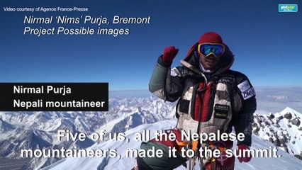Nepali climber claims new record for 14 highest peaks