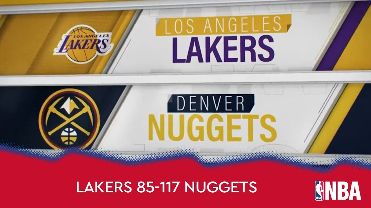 Los Angeles Lakers 85-117 Denver Nuggets