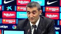Festín goleador del Barça ante el Valladolid