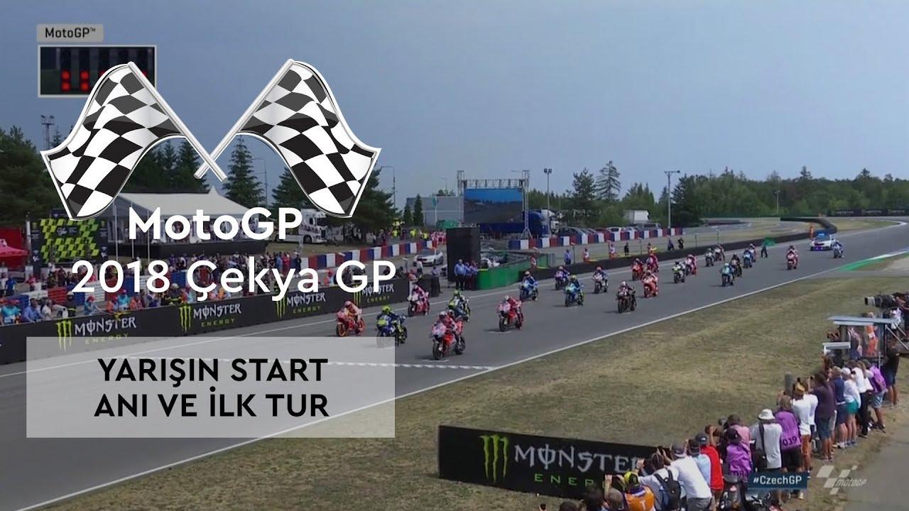 Çekya GP Böyle Başladı (2018 MotoGP - Çek Cumhuriyeti Grand Prix)
