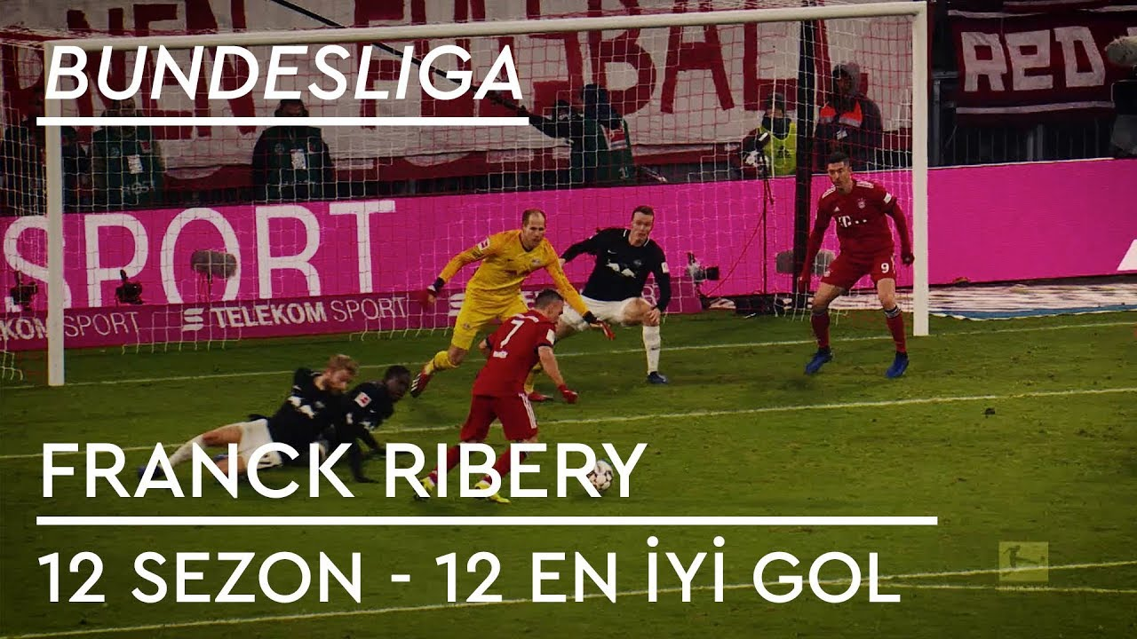 Franck Ribery | 12 Sezon - 12 En İyi Gol