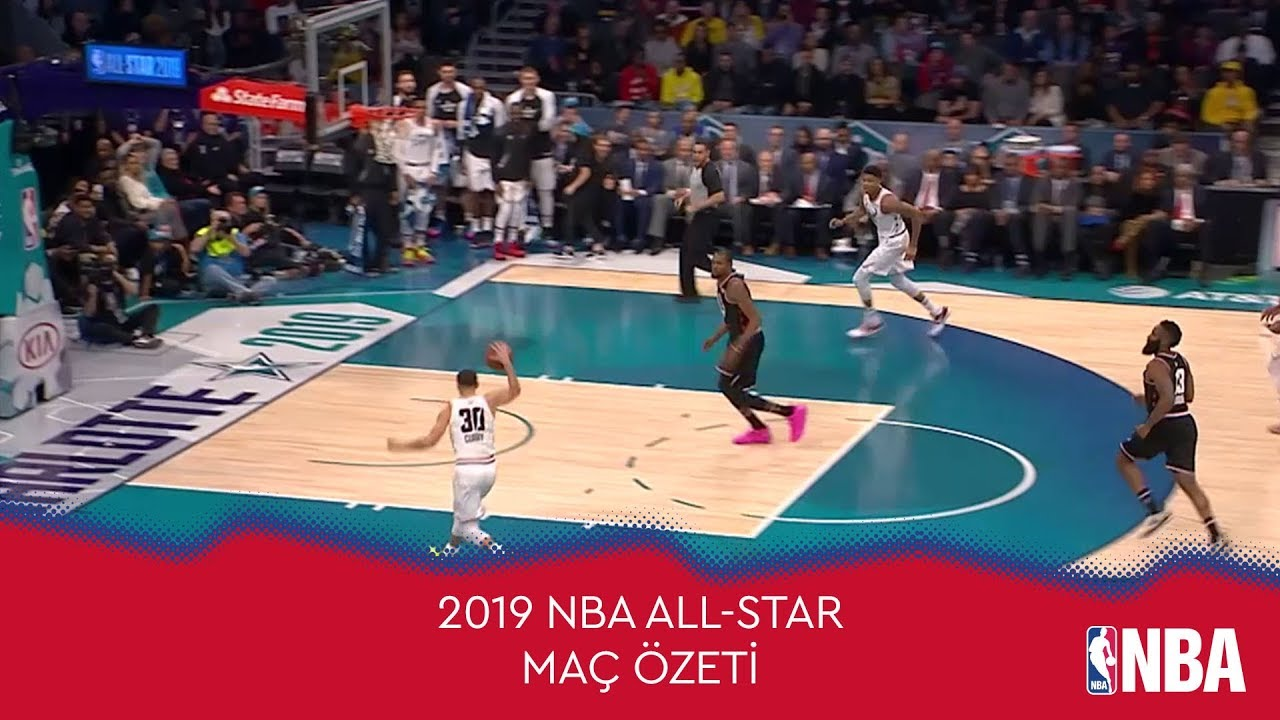 2019 NBA All-Star Maçı'nın Özeti | Team LeBron vs Team Giannis