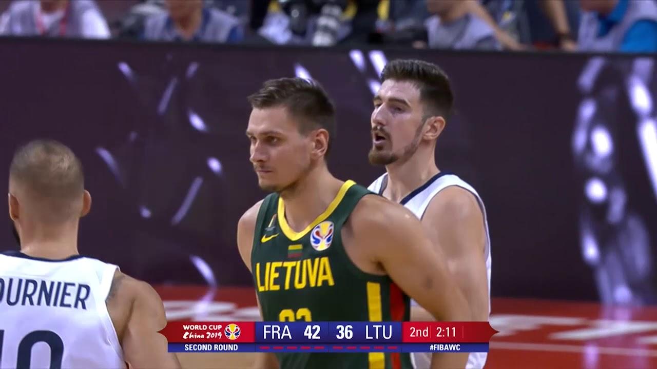 Fransa 78 - 75 Litvanya | Maç Özeti - FIBA 2019 Dünya Kupası