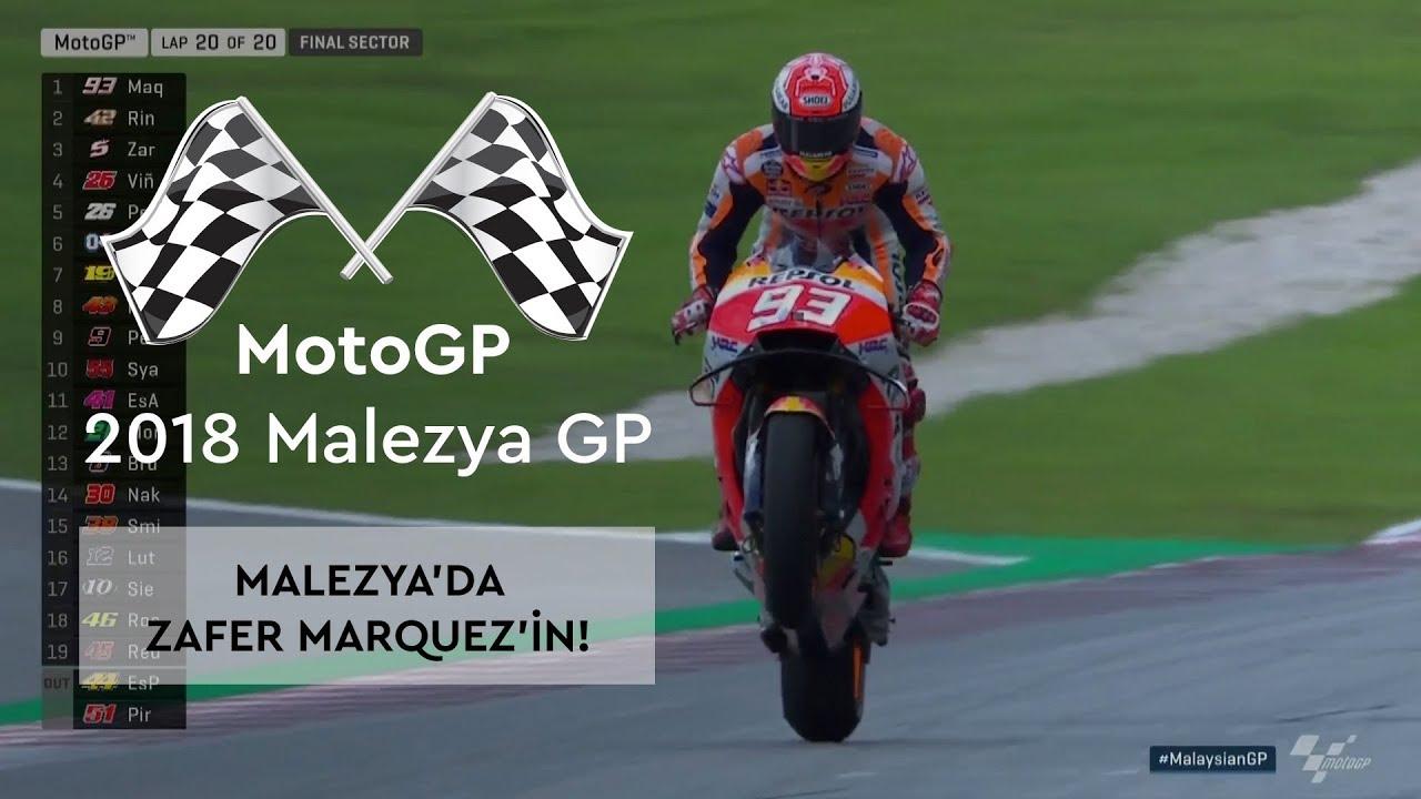 Malezya'da Zafer, Marc Marquez'in! (MotoGP 2018 - Malezya Grand Prix)