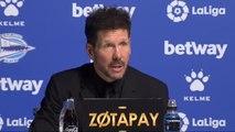 """Simeone hace autocrítica: """"Cuando un equipo no arranca bien, siempre es responsabilidad del entrenador"""""""