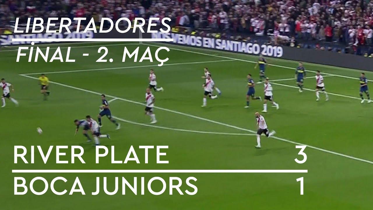River Plate - Boca Juniors (3-1) - Maç Özeti - Copa Libertadores 2018 | Final - 2. Maç (Türkçe)