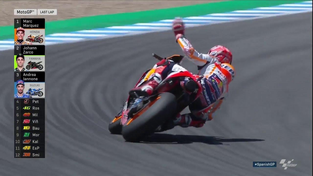 İspanya'da Zafer Marquez'in - Son Tur! (MotoGP 2018 - İspanya Grand Prix)