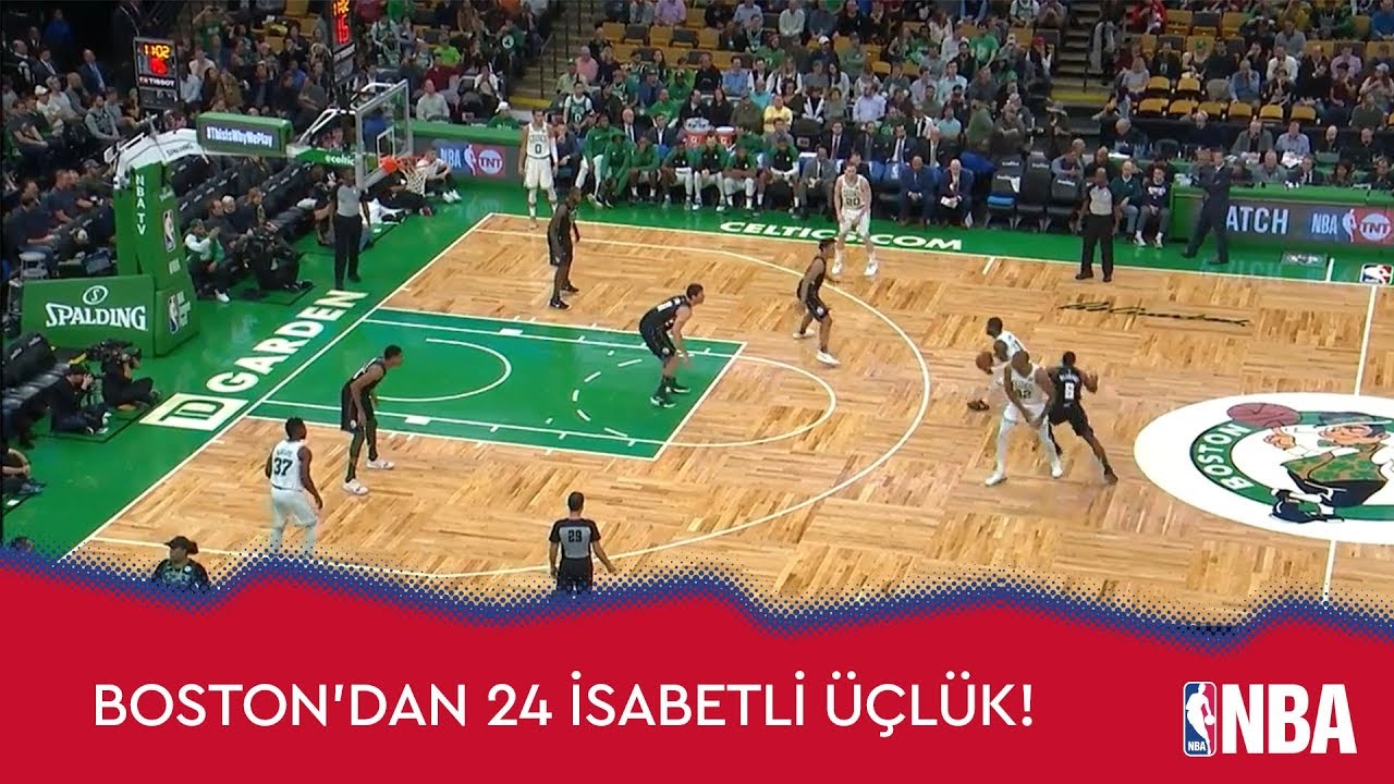 Boston'dan 24 İsabetli Üçlük!