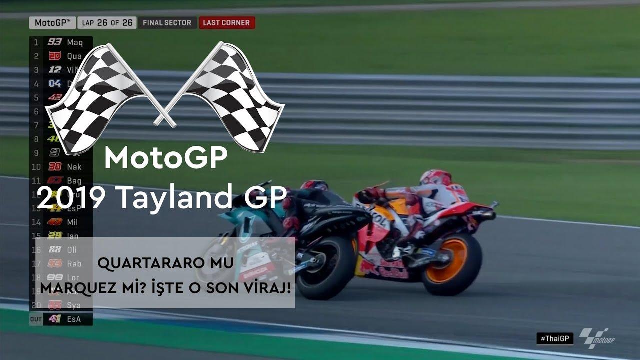 Yine Son Tur, Yine Son Viraj! (MotoGP 2019 - Tayland Grand Prix)