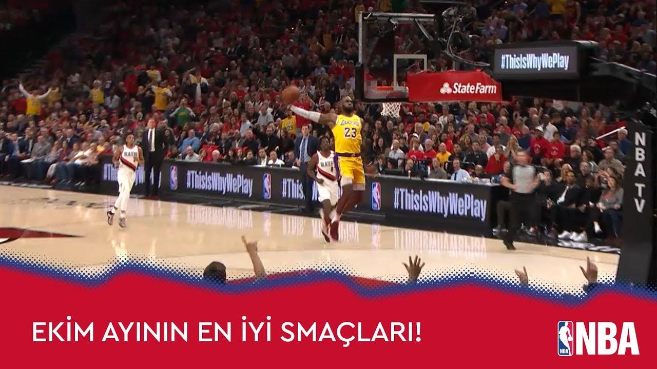 NBA'de Ekim Ayının En İyi Smaçları!