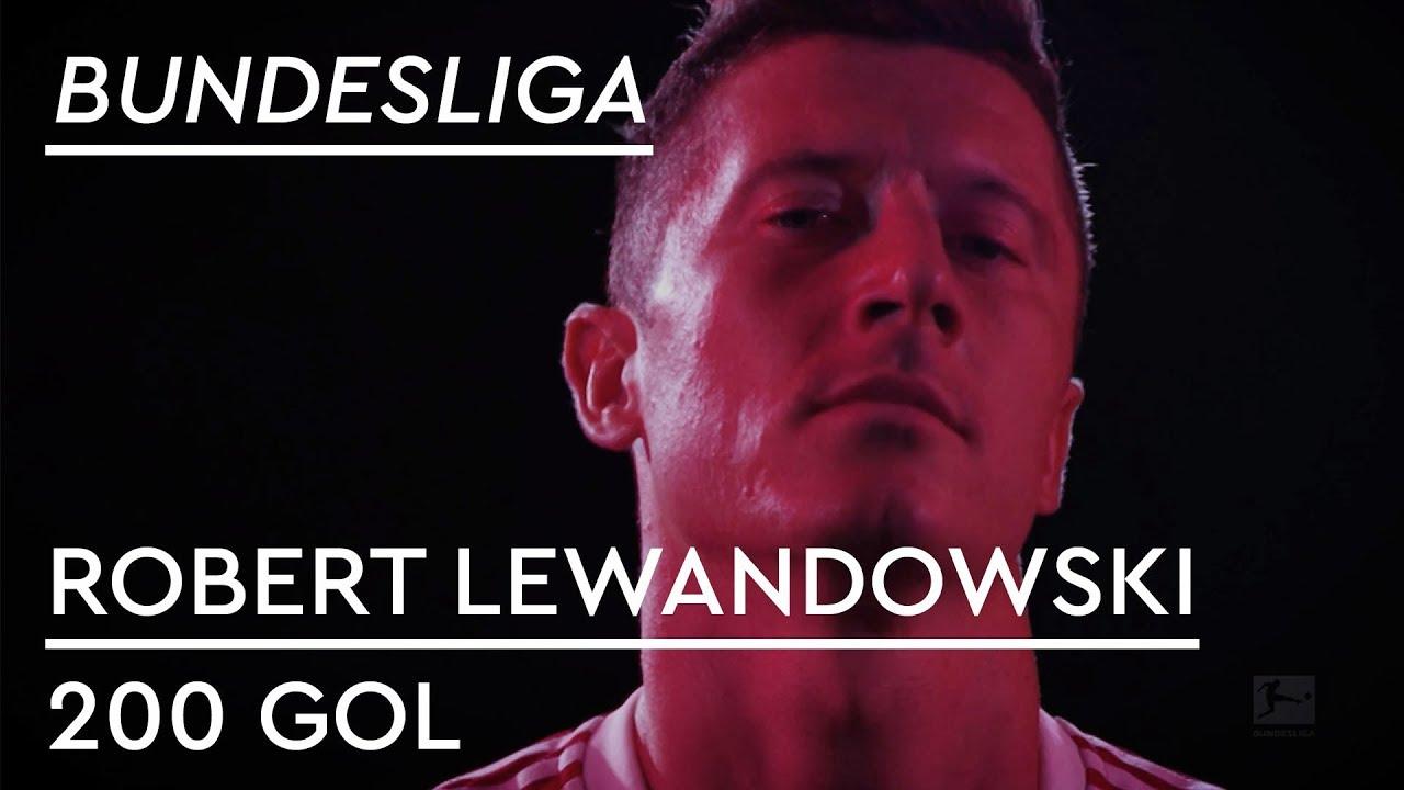 Bundesliga'da 200'ü Geçen Lewandowski'nin Golleri!