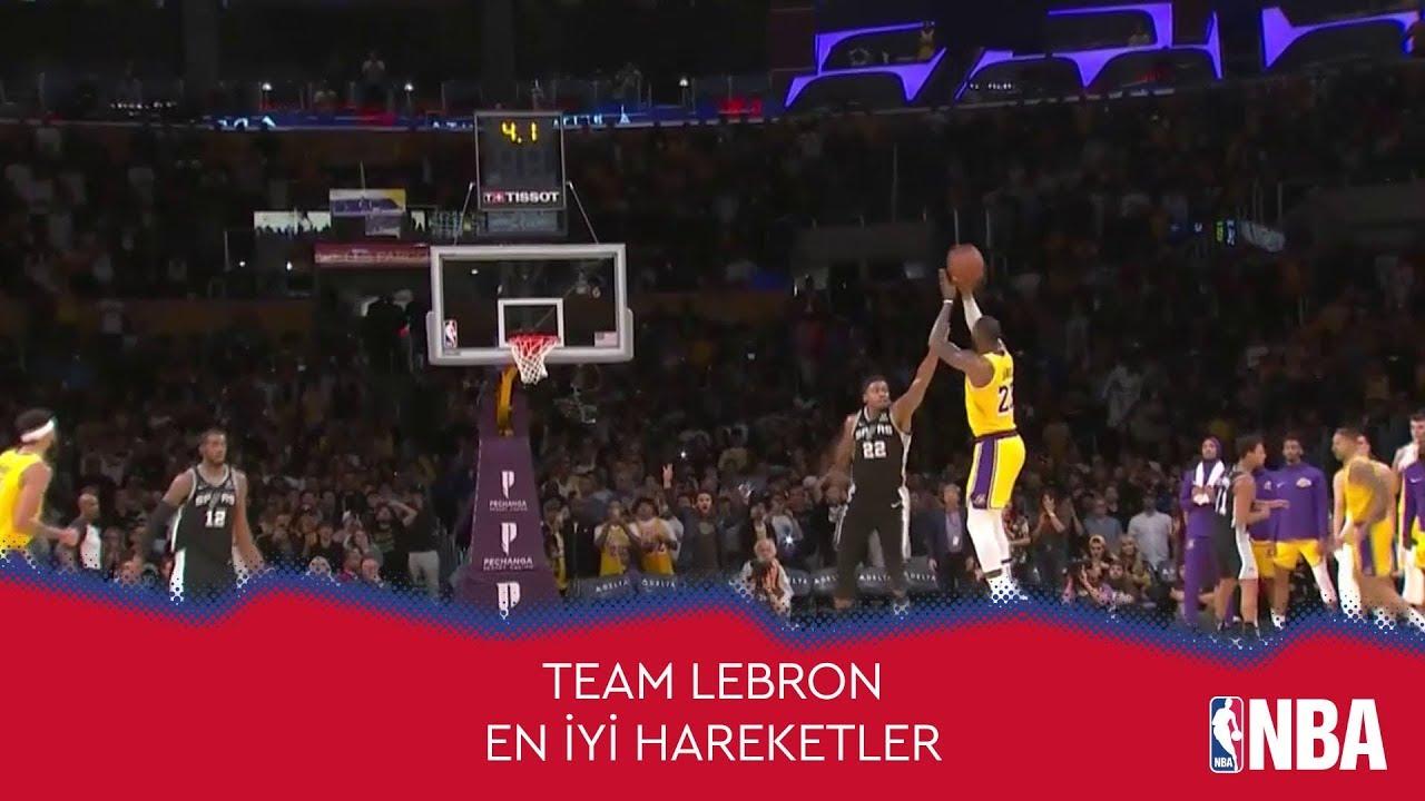 NBA All-Star'a Doğru | Team LeBron'dan En İyi Hareketler