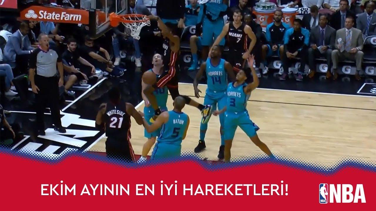 NBA'de Ekim Ayının En İyi Hareketleri!