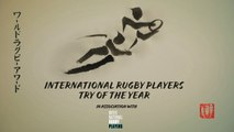 Shortlist for International Rugby Players Try of the Year 2019