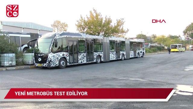 İBB yeni metrobüsleri test etmeye başladı!
