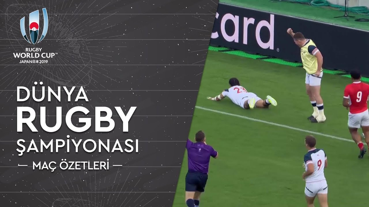 Dünya Rugby Şampiyonası | Maç Özetleri