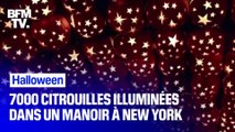 Halloween: 7000 citrouilles illuminent ce manoir près de New York