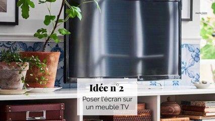 Comment bien intégrer sa télévision dans un salon