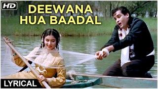 Deewana Hua Baadal | Lyrical Song | Kashmir Ki Kali | Shammi Kapoor, Sharmila Tagore | Hindi Songs