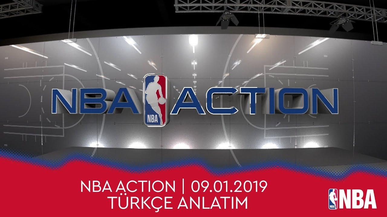 NBA Action | 09.01.2019 | Türkçe Altyazı