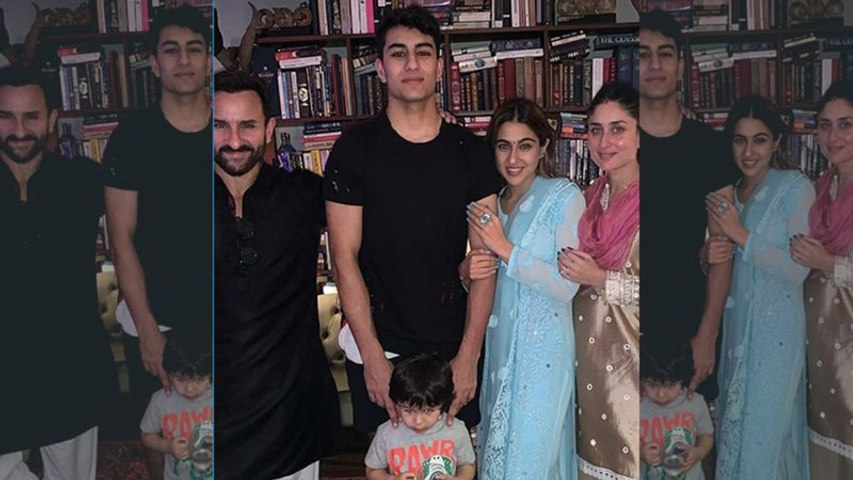 The Pataudi family gathers up to celebrate Diwali 2019