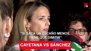 Cayetana VS Sanchez