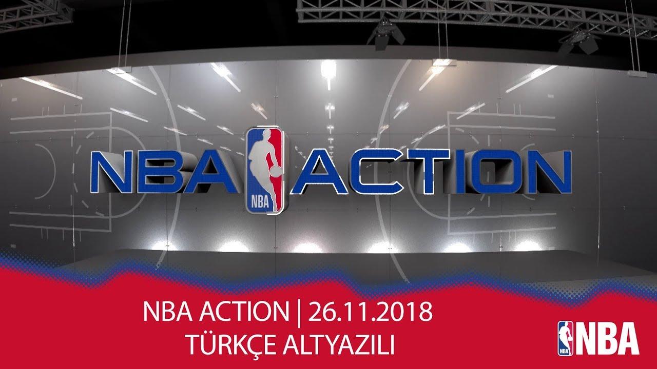 NBA Action | 26.11.2018 | Türkçe Altyazılı