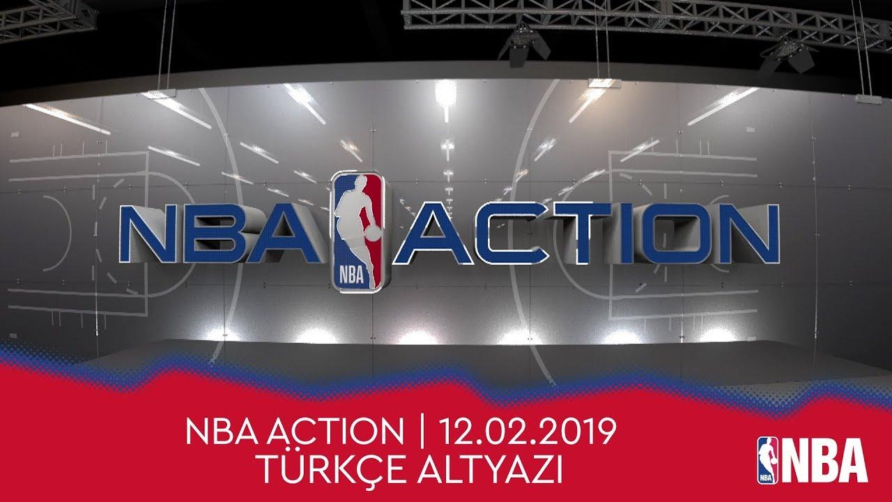 NBA Action | 12.02.2019 | Türkçe Altyazı