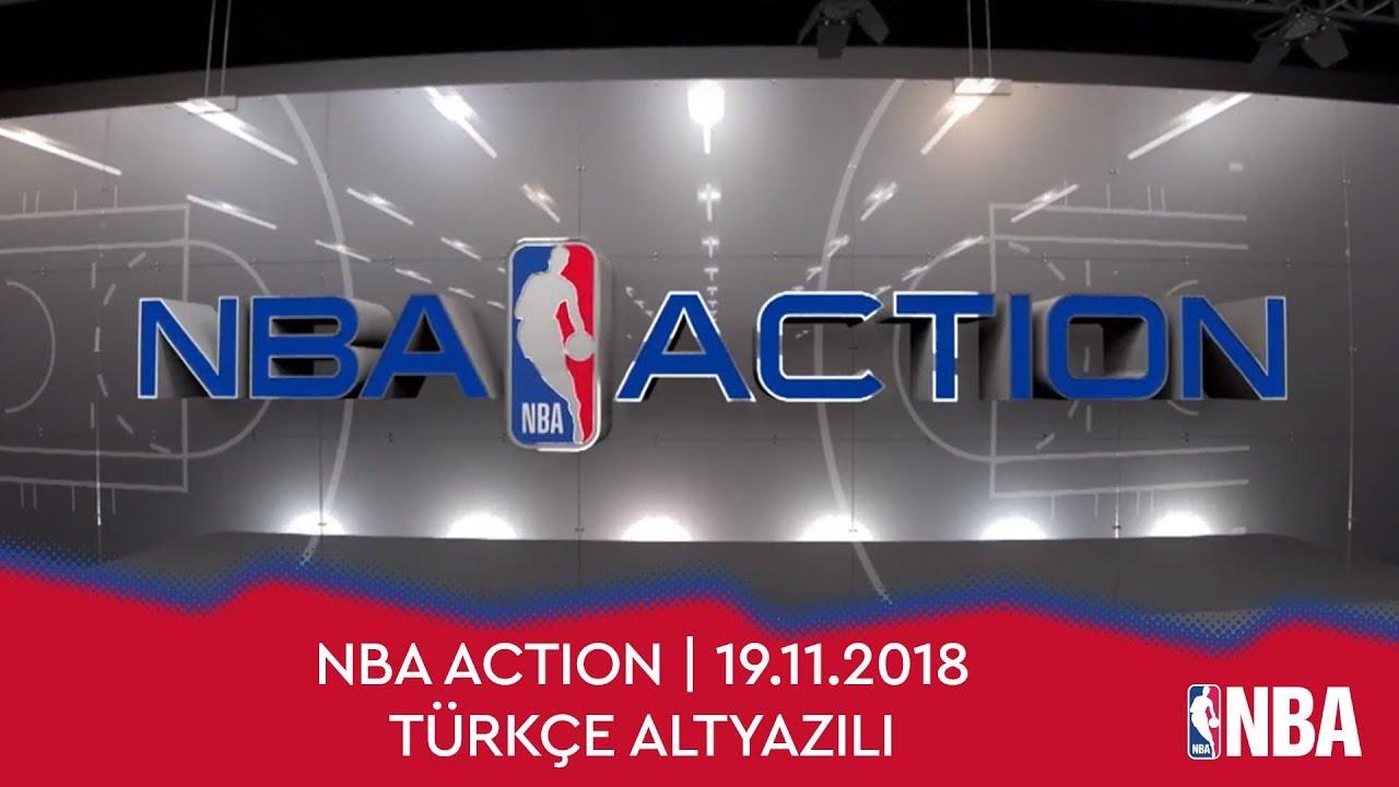 NBA Action | 19.11.2018 | Türkçe Altyazılı