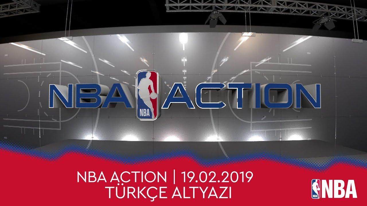 NBA Action | 19.02.2019 | Türkçe Altyazı