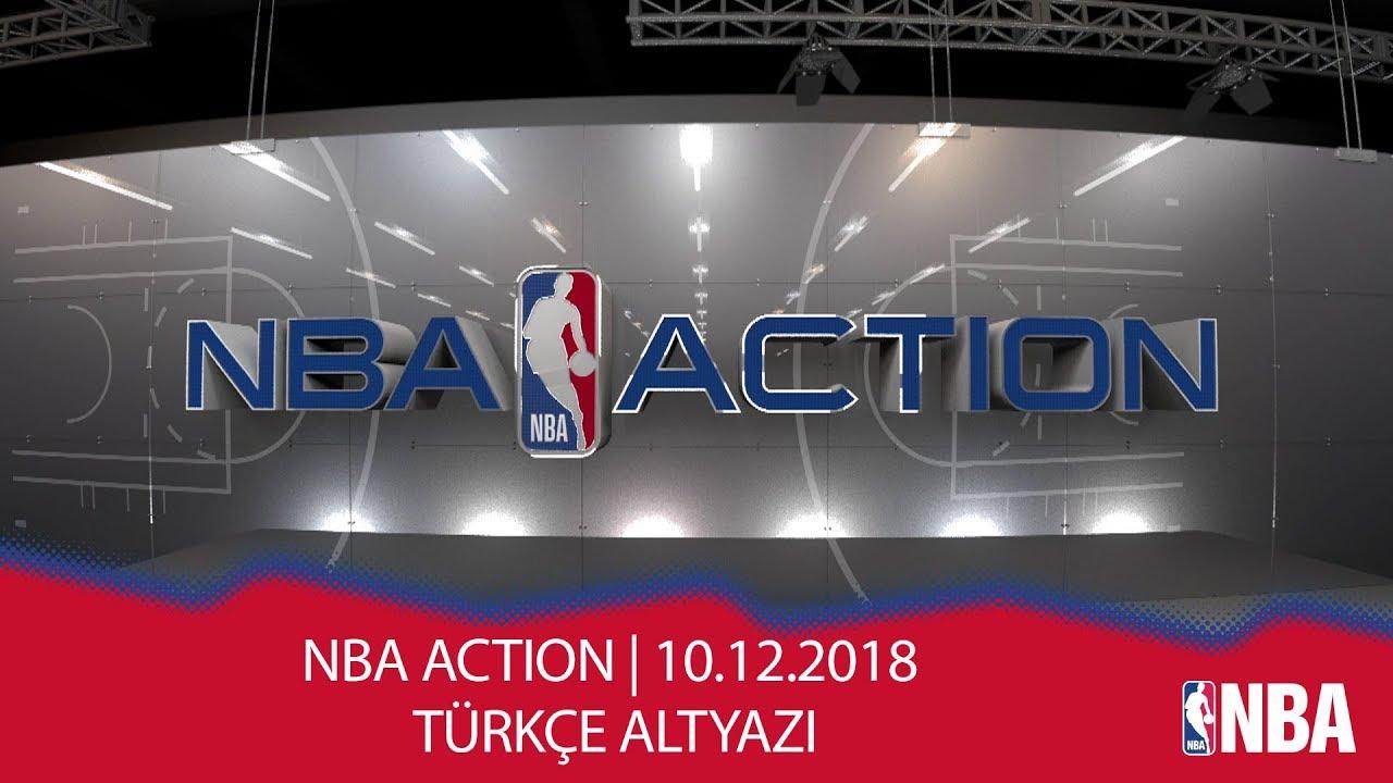 NBA Action | 10.12.2018 | Türkçe Altyazı