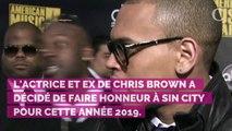 PHOTOS. Karrueche Tran, l'ex de Chris Brown, dégaîne un costume d'Halloween très sexy